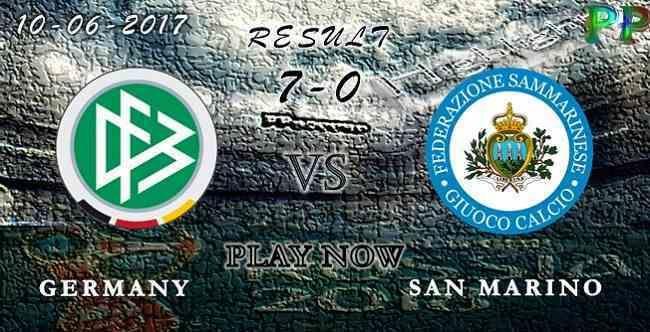 Germany 7 - 0 San Marino HIGHLIGHTS 10.06.2017