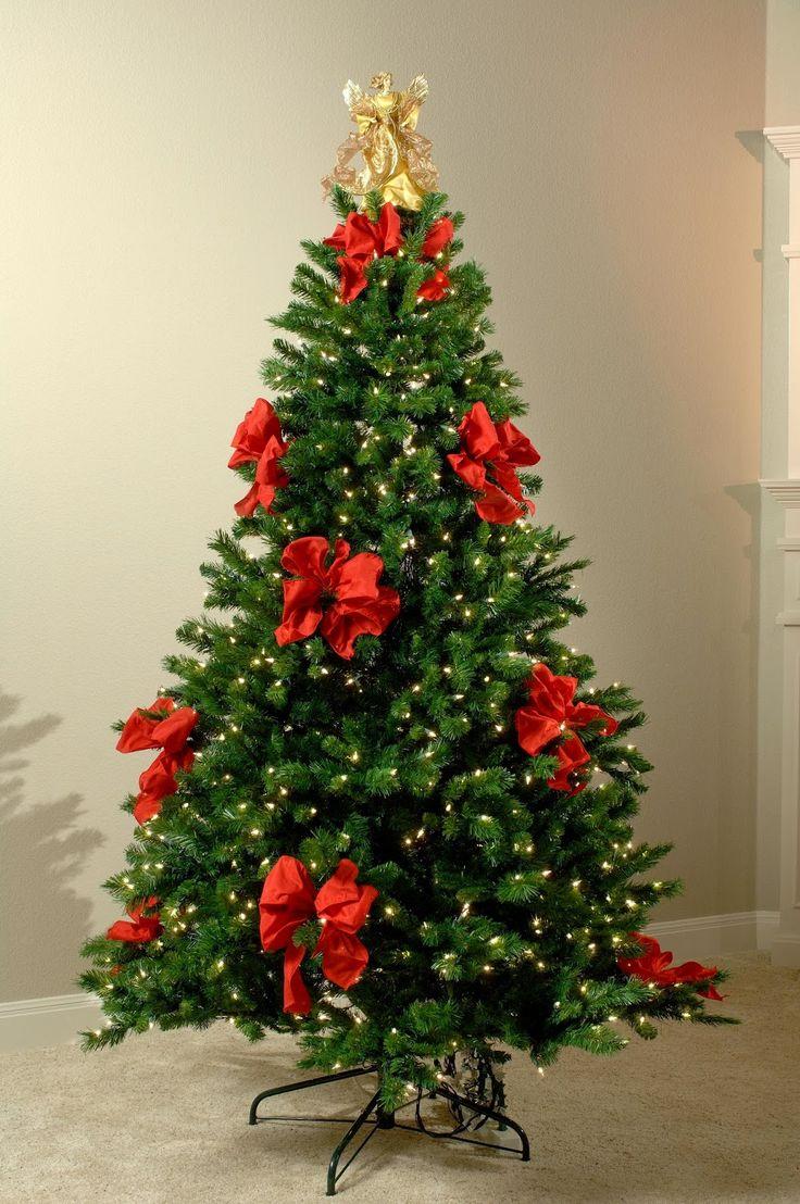 MuyAmeno.com: Arboles de Navidad Decorados con Cintas