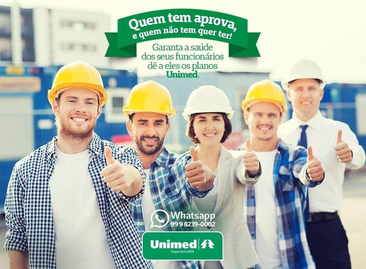 Seus funcionários vão aprovar e muito um plano de saúde Unimed!  Whatsapp: 99 9 8239-0002  Telefone: 0800 098 0810  #Imperatriz #Maranhão #Unimed #VivaVidaCorretora #PlanoDeSaúde #Saúde #Empresa #Funcionários #QualidadeDeVida by vivavidacorretora