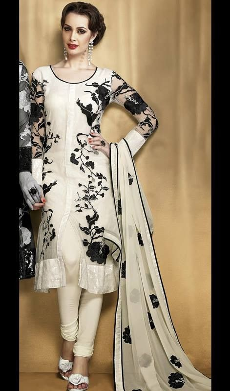 Black and white suit. Kaneesha.com