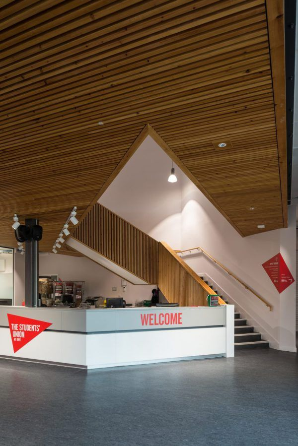 An all encompassing Student Union for socialising, studying and refuelling. The Students' Union is one of the first buildings to be constructed in the new 'heartzone' of the Univeristy of …