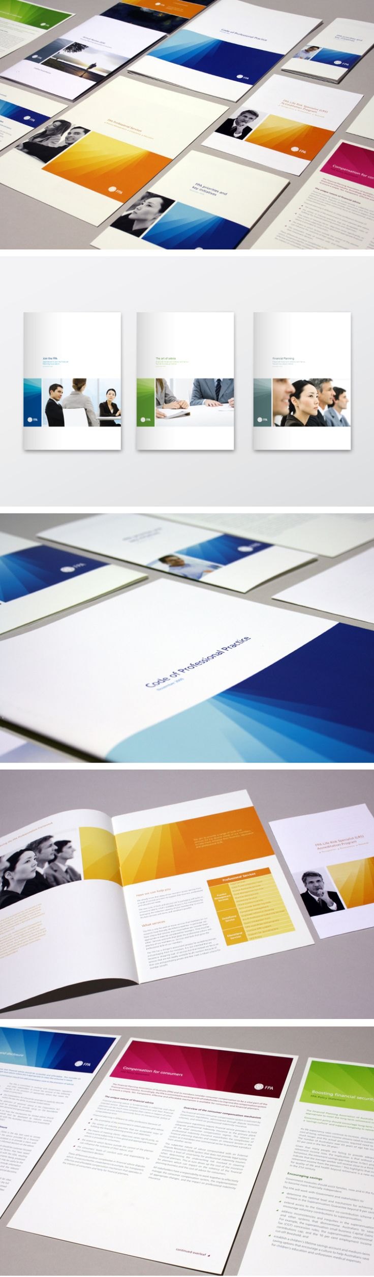 Financial Planning Association of Australia print collateral