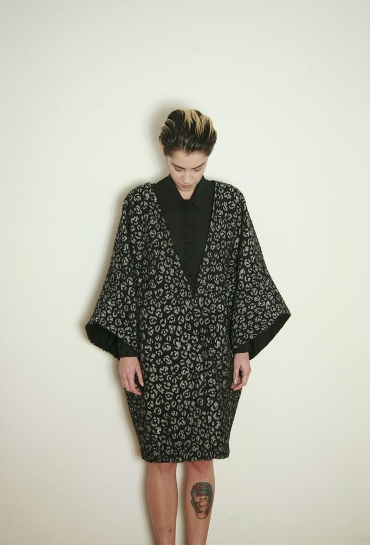 KIMONO WITH ANIMAL PATTERN tsouknida.eu