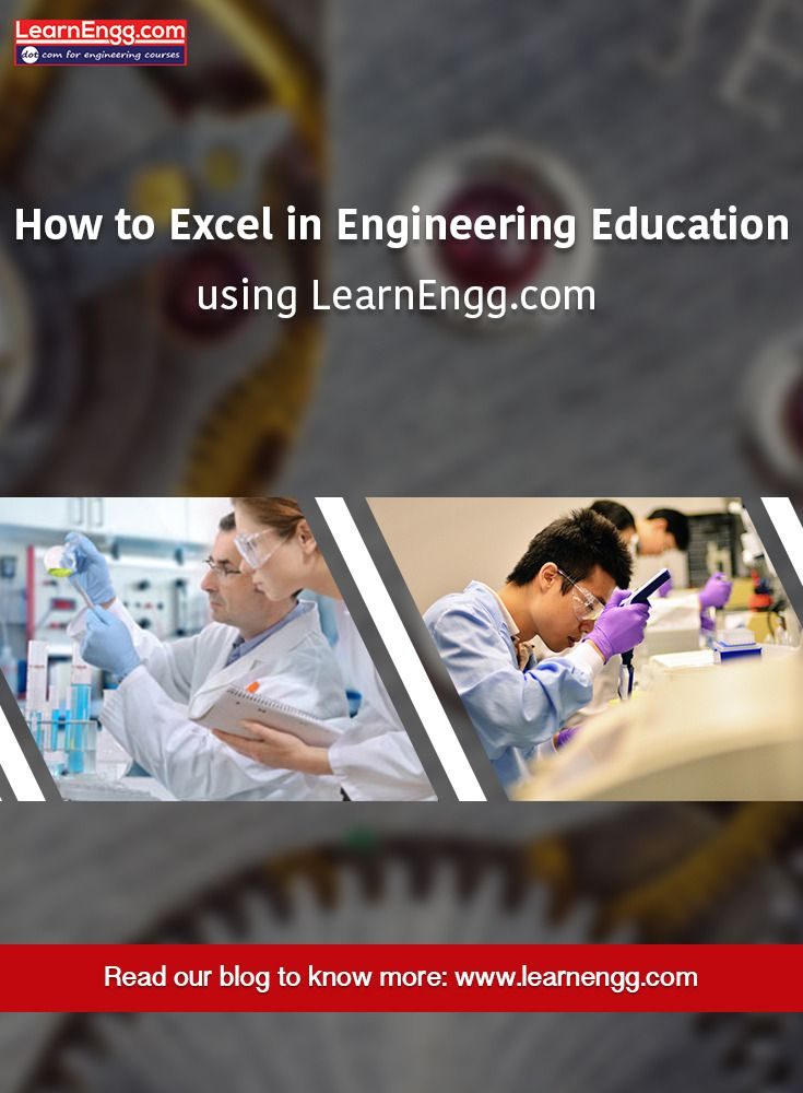How to excel in Engineering Education using LearnEngg.comRead our blog to know more: [Click on the image] #3d #learnengg #engineering