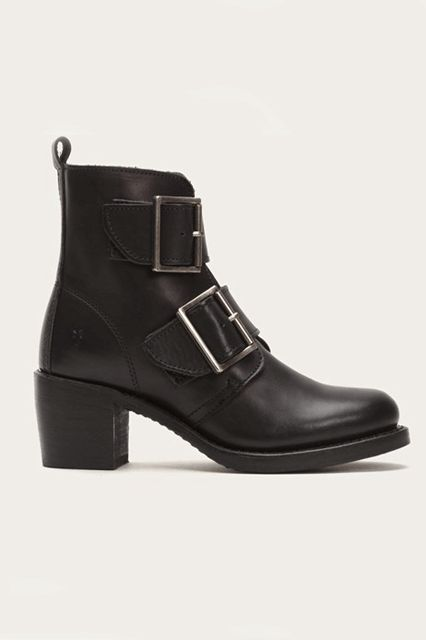 The sleek silhouette bodes well with the chunky buckles. Frye Sabrina Double Buckle, $378, available at Frye.