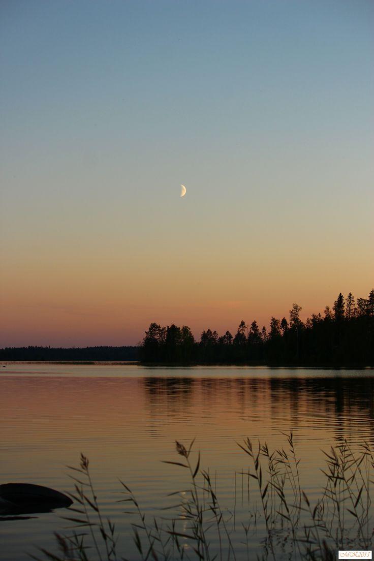 #foto #lake #sunset #finland #august #valokuvaus #järvi #auringonlasku #suomi #elokuu #Konnevesi