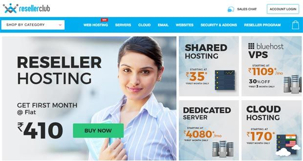 ResellerClub: India's Most Affordable Shared & Reseller Hosting Company