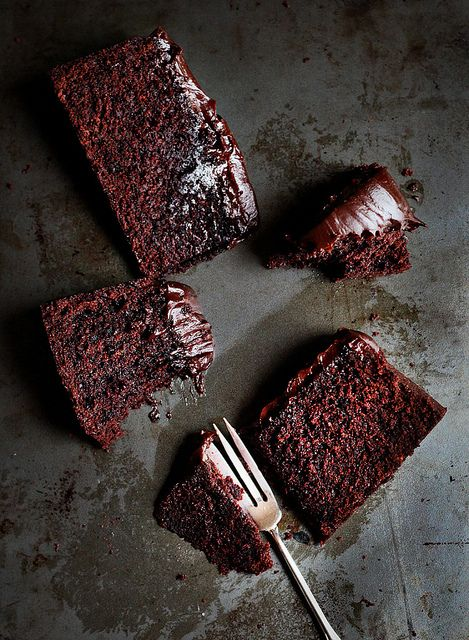 Chocolate baileys mud cake.