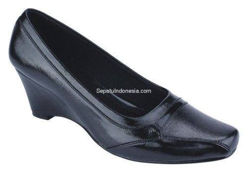 Sepatu Wanita Ctn 19 375 Sintetik Hitam 36 40 Rp 160 500