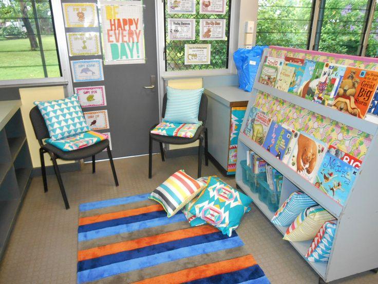 This is my reading corner!