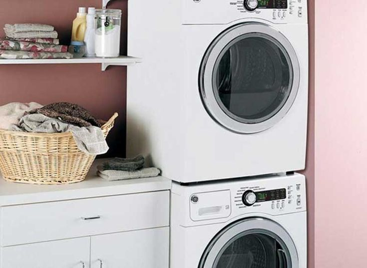 25 best ideas about compact washer and dryer on pinterest stacked washer dryer stackable - Small space laundry set ...