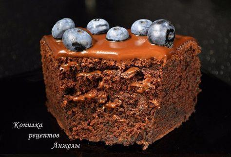 Коржи по этому рецепту получаются неприлично вкусными, здесь и насыщенный шоколадный вкус (причем именно шоколадный) и умеренная влажность. Рецепт взят с кулинарного блога АнжелыРецепт настоль…