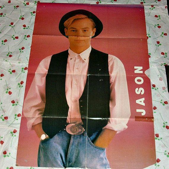 Jason Donovan Special Edition Poster Magazine Giant Poster