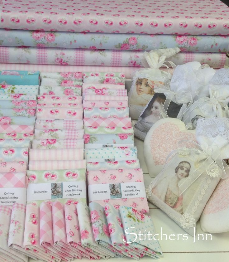 Shabby Chic ❤ Bundle Fabrics www.stitchersinn.com