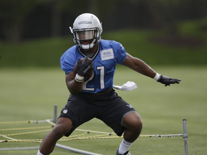 Backup running back: Ameer Abdullah.