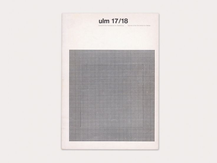 Hochschule für Gestaltung Ulm journal | designers books