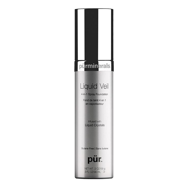 Skin-perfecting Liquid Veil Spray Foundation from PurMinerals: