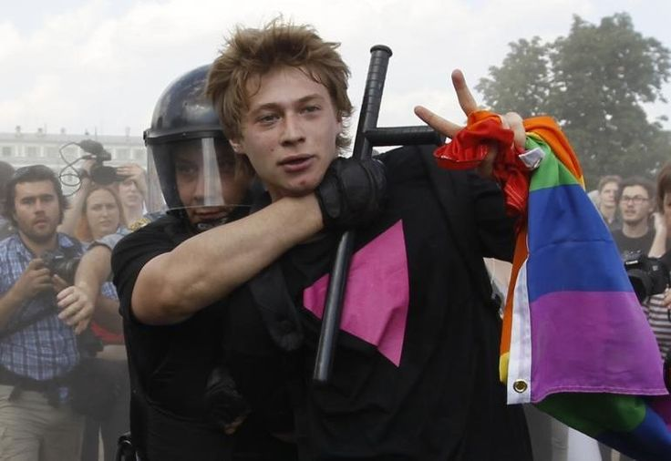 Activists Fought Back Against Russia's Anti-Gay Law. 46 Most Iconic LGBT Moments of 2013