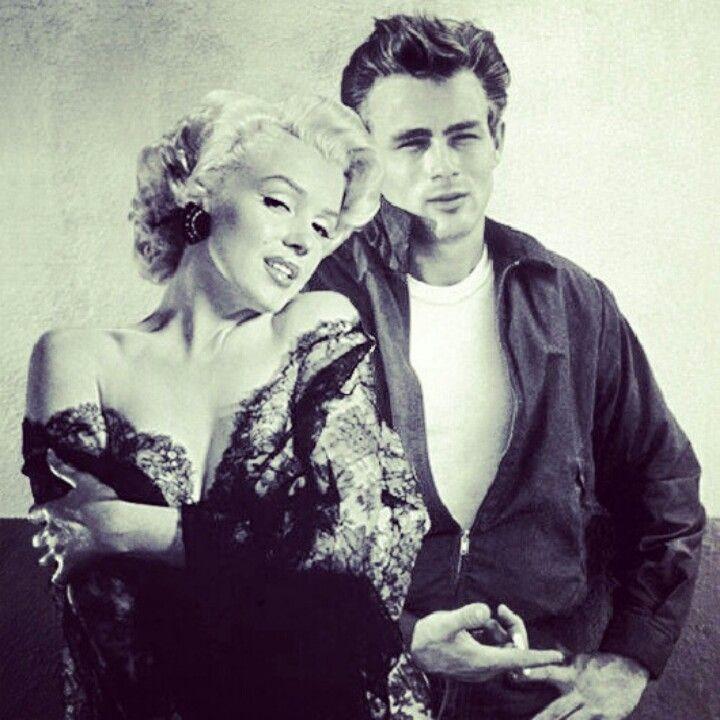 Resultado de imagen para Marilyn Con James DEan