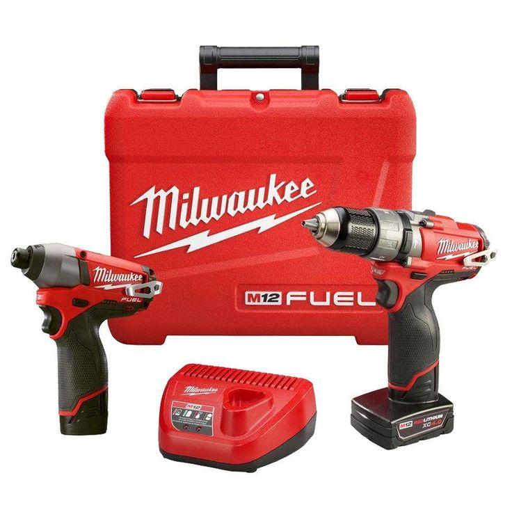 M12 FUEL Hammer Drill Impact Combo Kit Milwaukee 2597-22 New $149.99 #LavaHot http://www.lavahotdeals.com/us/cheap/m12-fuel-hammer-drill-impact-combo-kit-milwaukee/195698?utm_source=pinterest&utm_medium=rss&utm_campaign=at_lavahotdealsus