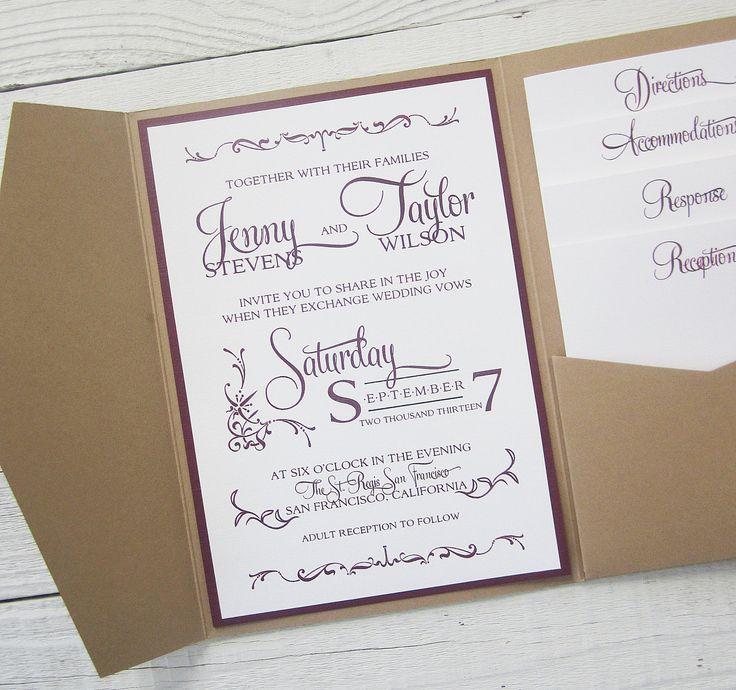 42 best Kerriu0027s Wedding Invites (EEEP!) images on Pinterest - best of invitation letter wedding