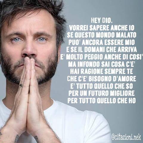 Nek - Hey Dio || #Nek_FilippoNeviani #frasi #canzoni #musica (by @citazioni.nek)