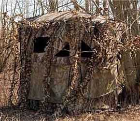 Hunting Ground Blind Tips