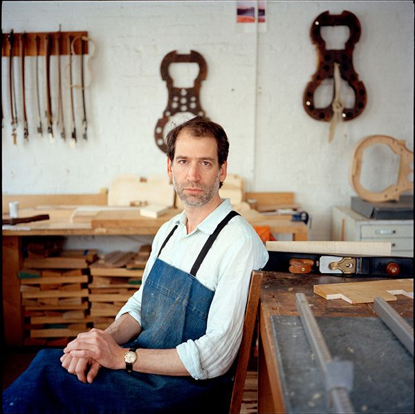 New York City-based photographer Sarah Shatz created a series of environmental portraits featuring musical instrument makers: http://blog.photoshelter.com/2013/01/environmental-portraits-of-the-silent-stars-in-music-making/