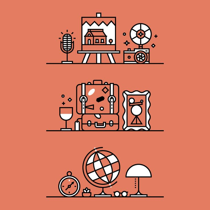 spot illustrations by Tamer Koseli
