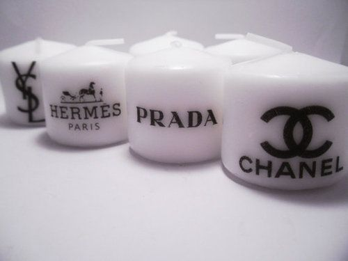 fancy candlesDecor, Chanel, Yankes Candles, Hermes, Floating Candles, Little Gift, Design Candles, Interiors Design, Fashion Candles