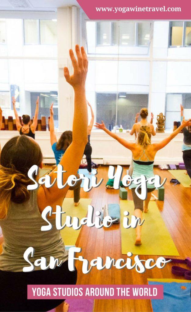 Yogawinetravel.com: Yoga Studios Around the World - Satori Yoga Studio in San Francisco