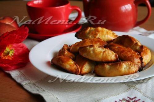 Пирожки в мультиварке с яблоками