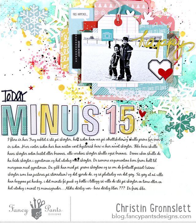 christin gronnslett - minus 15