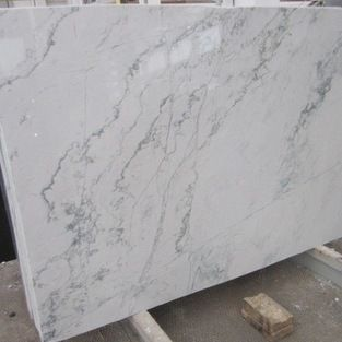 Calacatta Quarzite - Wonderful substitute for people who love marble but do not want to worry about maintenance.