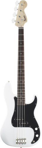 Fender Squier® Affinity Precision Bass®, Olympic White, Rosewood Fretboard