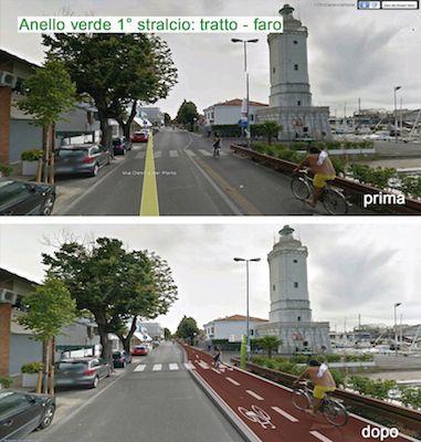 Rimini Anello Verde: al via il lavori per la realizzazione della pista ciclabile