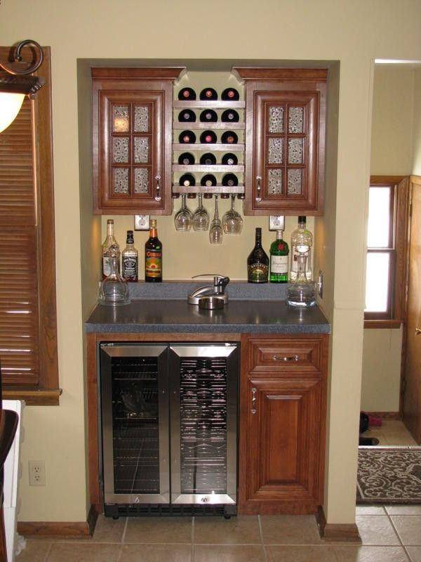 Built In Wet Bar Designs