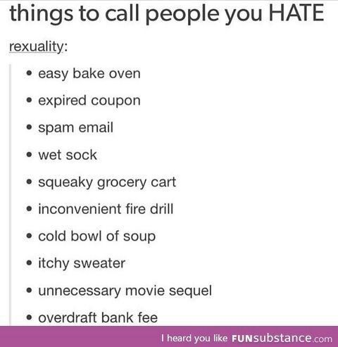 How to insult people