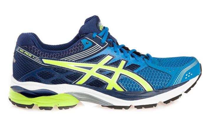 #Asics GEL-Pulse 7 - męski but treningowy. Posiada bardzo dobry poziom amortyzacji, przeznaczony na nawierzchnie miejskie.  Polecany biegaczom  poszukującym komfortowego obuwia na treningi. Model ten może być wykorzystany przez cięższych biegaczy do rekreacyjnych startów. Skierowany dla biegających z pięty.  #jesienzima2015 #meskie #treningowe #gel