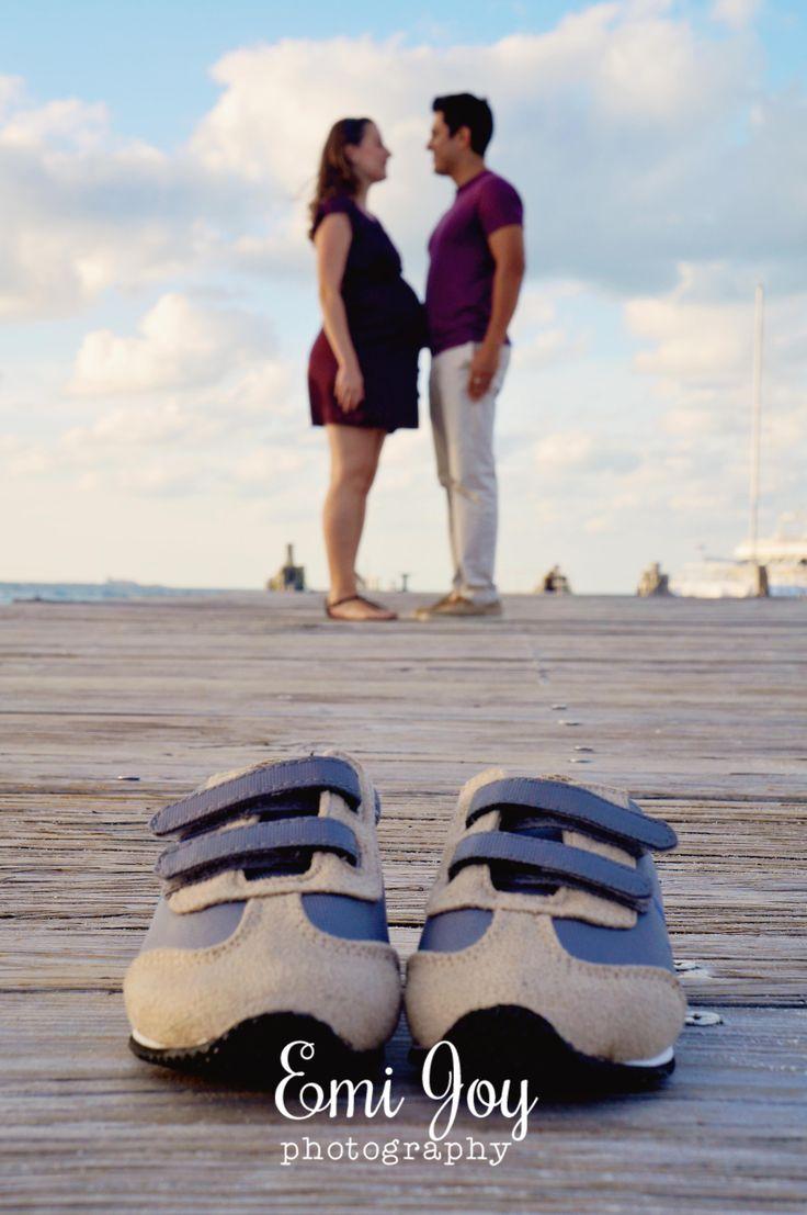 beach maternity photo shoot <3 foto embarazo