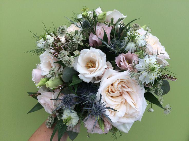 Bridal bouquet     #weddings #wedding #bridalbouquet #romantic #organic #white #canada #ontario #floralart #weddingflowers #flowers #floraldesign #navy #blush #rustic #classic #simple #bouquet