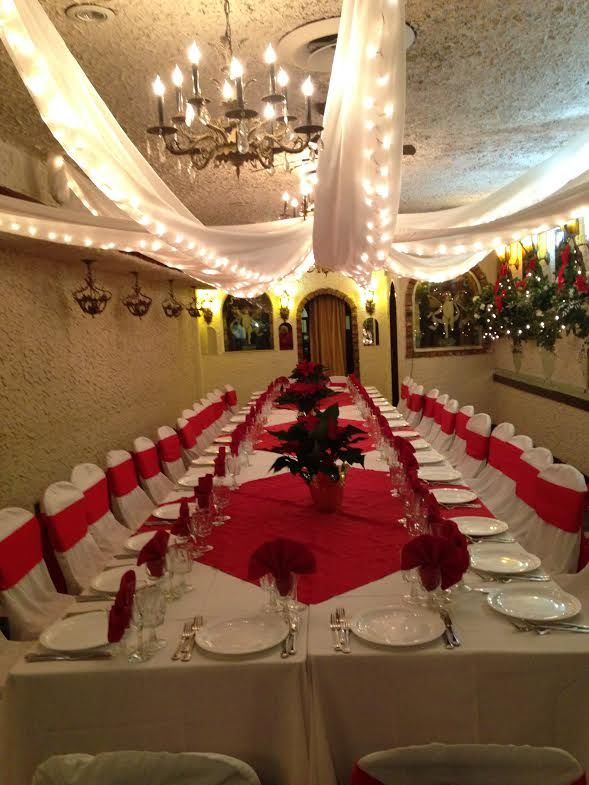 Our Party Room Is All Set To Host Your Small Wedding Corporate Party Shower Or Private Celebration Let S Wedding Table Wedding Decorations Wedding