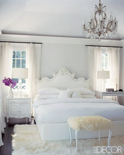 An All White Room Usually Leaves Me Cold But I Did A Double Take When I Saw This Study Recently The All White Room Has Been Punched With Colour Bursts
