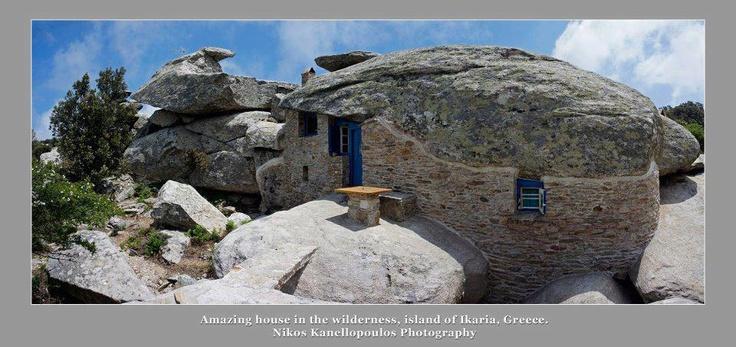Anusual House In Ikaria Greece