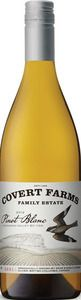 Covert Farms Family Estate - 2012 Pinot Blanc, Oliver, BC - A lush Pinot Blanc, with full bodied orchard fruit flavours, this white wine displays all of the amazing flavours expected from this outstanding vintage! #bcwine #bc #okanagan #wine #organic