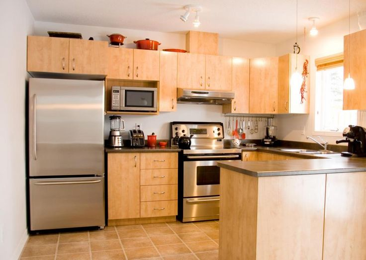 Delightful Kitchen With Stainless Steel Appliances Listed In: Modular  Commercial Kitchen Modular Kitchen Cabinets Subject Plus Modular Kitchen  Storage ...