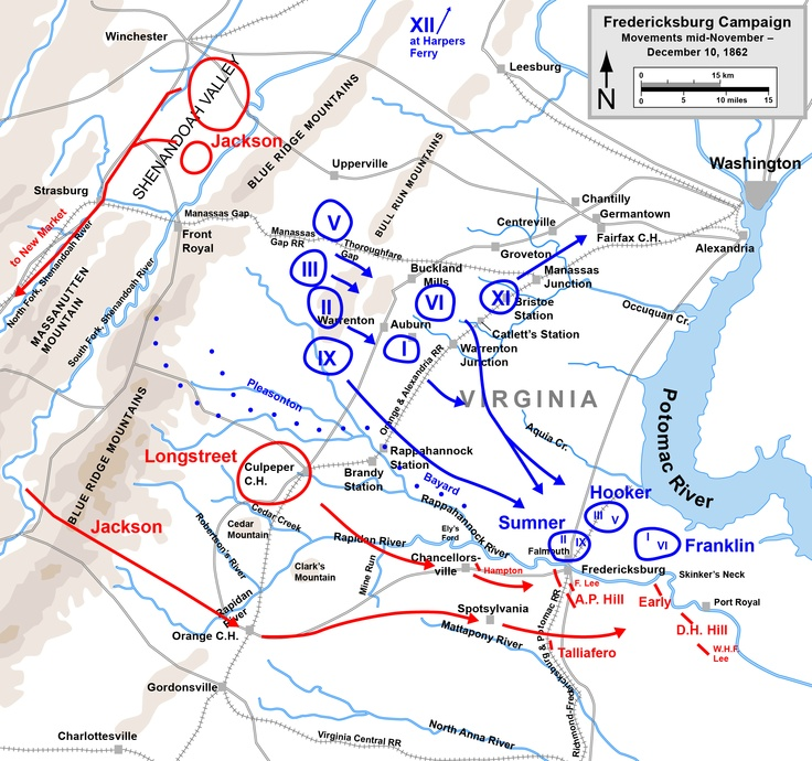 Best The Fredericksburg Campaign Images On Pinterest Civil - Us map initials