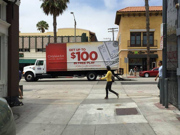 TSN Advertising & Chumash Casino in downtown Santa Monica