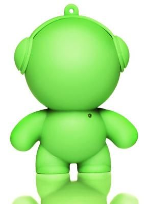 Green Mini Monster Speaker - Little speakers with BIG sound! These little guys are perfect for BBQ's, garden parties, or anywhere else you might need portable music. Available in lots of colours.