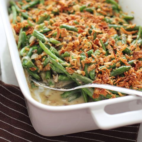 green bean casserole fresh green photo credit junk food earth green ...